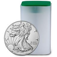 1 oz American Silver Eagle - BU Roll (Date of Our Choice)