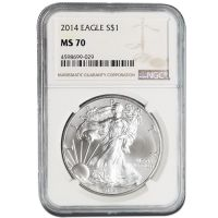 2014 American Silver Eagle - NGC MS 70