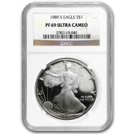1989 American Silver Eagle - NGC PF 69