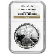 1993 American Silver Eagle - NGC PF 69