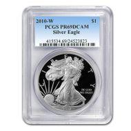 2010 American Silver Eagle - PCGS PF 69