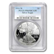 2011 American Silver Eagle - PCGS PF 69