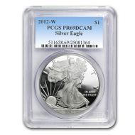 2012 American Silver Eagle - PCGS PF 69
