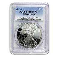 1997 American Silver Eagle - PCGS PF 69
