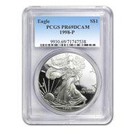 1998 American Silver Eagle - PCGS PF 69