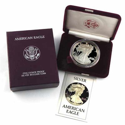 1992 American Silver Eagle - Proof