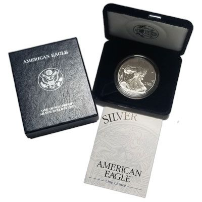 1997 American Silver Eagle - Proof