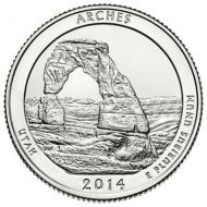 2014 Arches - D Roll (40 Coins)