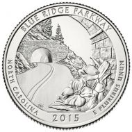 2015 Blue Ridge Parkway - D Roll (40 Coins)