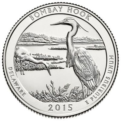 2015 Bombay Hook - D Roll (40 Coins)