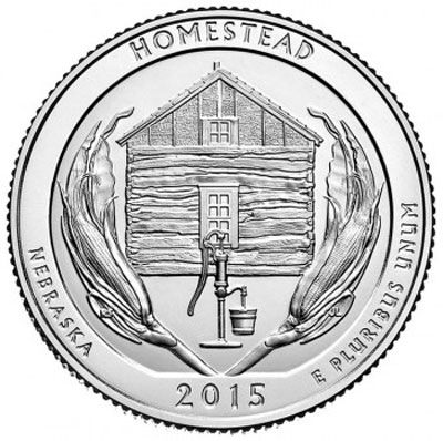 2015 Homestead - P Roll (40 Coins)