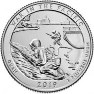 2019 War in the Pacific - P Roll (40 Coins)