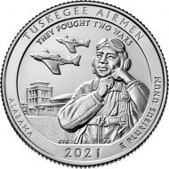 2021 Tuskegee Airmen National Historic Site - D Roll (40 Coins)