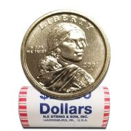 2001 D Sacagawea Dollar - BU Roll