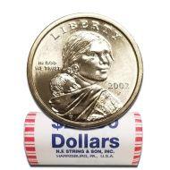2002 P Sacagawea Dollar - BU Roll