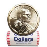 2003 P Sacagawea Dollar - BU Roll