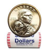 2004 P Sacagawea Dollar - BU Roll
