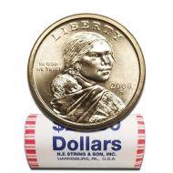 2008 D Sacagawea Dollar - BU Roll