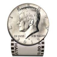 2019 D Kennedy Half Dollar - BU Roll
