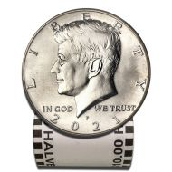 2021 Kennedy Half Dollar - BU Roll