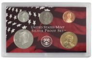 2003 United States Silver Proof Set - Coins Only no Quarters