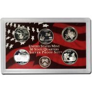 2004 United States 50 State Quarter Silver Proof Set - Coins Only