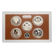 2020 America the Beautiful Quarter Proof Set - Coins Only