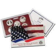 2010 America the Beautiful Quarter Silver Proof Set