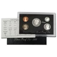 1996 United States Silver Proof Set