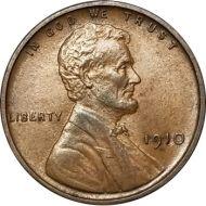 1910 Lincoln Wheat Penny - BU (Brilliant Uncirculated)