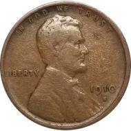 1910 S Lincoln Wheat Penny - F (Fine)