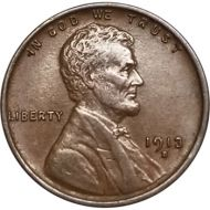 1913 D Lincoln Wheat Penny - AU (Almost Uncirculated)