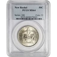 1938 New Rochelle 250th Anniversary - PCGS MS 64