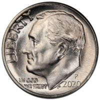 2020 P Roosevelt Dime - Brilliant Uncirculated