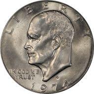 1974 D Eisenhower Dollar - Brilliant Uncirculated