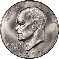 1977 P Eisenhower Dollar - Brilliant Uncirculated