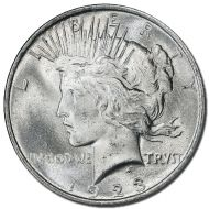 1923 D Peace Dollar - (BU) Brilliant Uncirculated