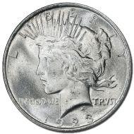 1923 Peace Dollar - (BU) Brilliant Uncirculated