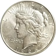 1926 D Peace Dollar - (AU) Almost Uncirculated