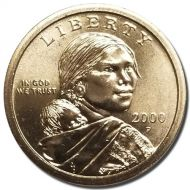 2000 P Sacagawea Dollar - Brilliant Uncirculated