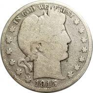 1915 S Barber Half Dollar - G (Good)