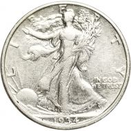 1934 Walking Liberty Half Dollar - XF (Extra Fine)