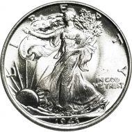 1943 Walking Liberty Half Dollar - BU (Brilliant Uncirculated)