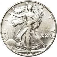 1946 Walking Liberty Half Dollar - AU (Almost Uncirculated)