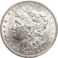 1879 O Morgan Dollar -  (AU) Almost Uncirculated