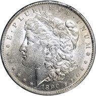 1890 S Morgan Dollar -  (AU) Almost Uncirculated