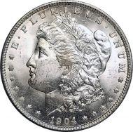 1904 O Morgan Dollar - (BU) Brilliant Uncirculated