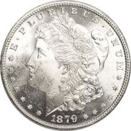 1879 Morgan Dollar - (BU) Brilliant Uncirculated