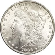1883 Morgan Dollar - (BU) Brilliant Uncirculated
