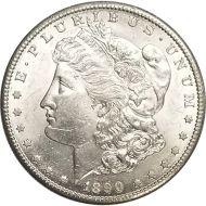 1890 S Morgan Dollar - (BU) Brilliant Uncirculated